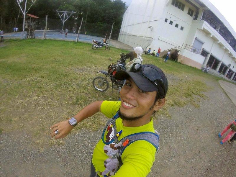 The start/finish of Kalatungan Ridge Ultimate Race 2016. . .