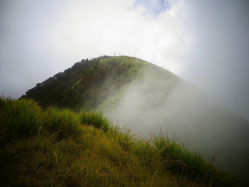 The beauty of Mt. Weji's peak! ;)