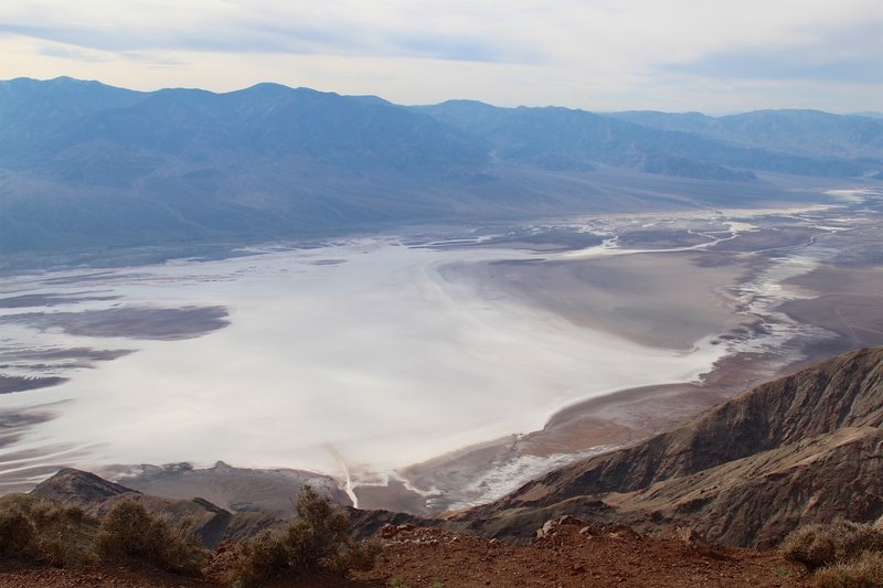 Overview of Badwater Basin from Dante's Viewpoint.