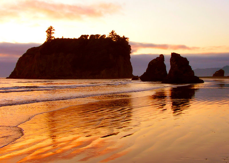 Ruby Beach, Olympic National Park. with permission from danhester