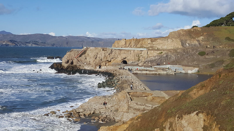 Sutro Baths Ruins from Cliff House