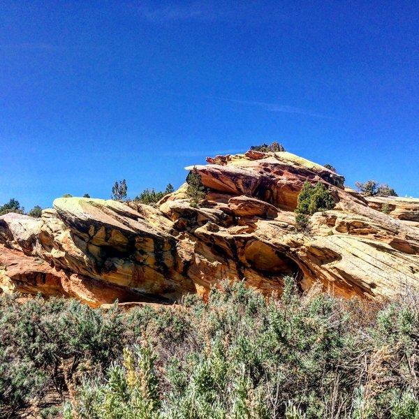 No Thoroughfare Canyon, Colorado National Monument