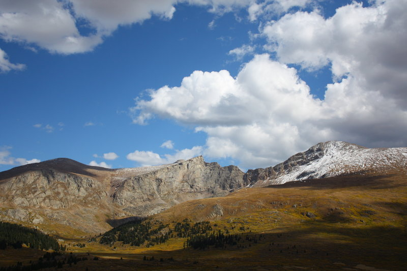 Mt. Bierstadt and the Sawtooth.