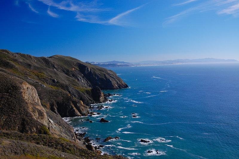 Great views on the Coastal Trail.