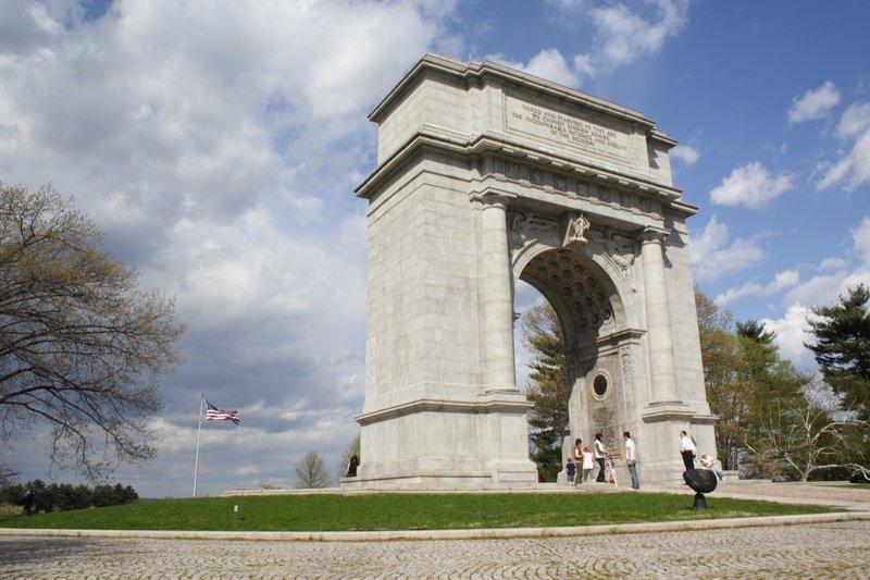 Memorial Arch.