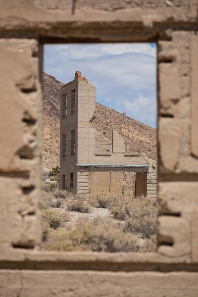 Rhyolite ruins.
