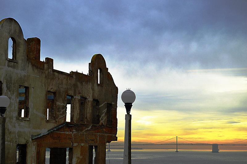 View from Alcatraz.