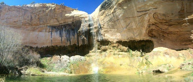 Upper Calf Creek Falls.