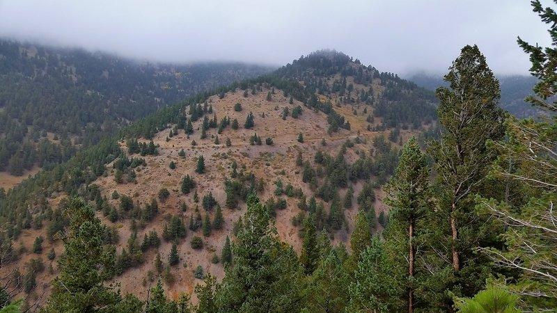 Views from Switzerland Trail.