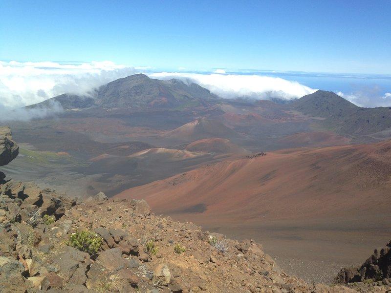 Impressive Haleakala views in all directions.