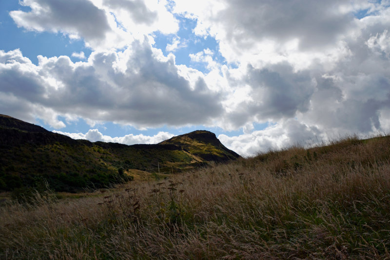 A peak at Arthur's Seat