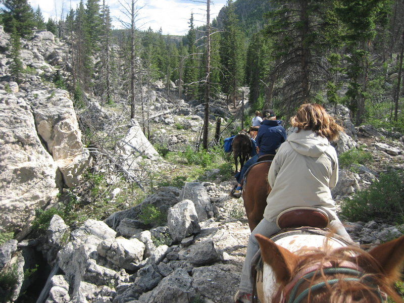 Horseback ride through the Hoodoos.