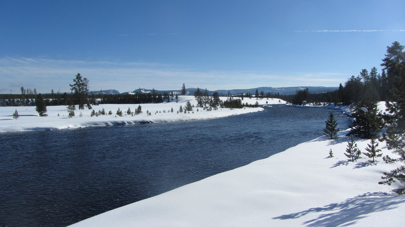 Madison River from the Up River Ski Loop.