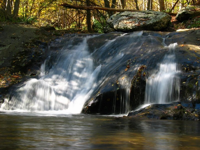 Big Rock Falls near Rapidan Camp (Camp Hoover) along the Mill Prong Horse Trail. with permission from rootboy