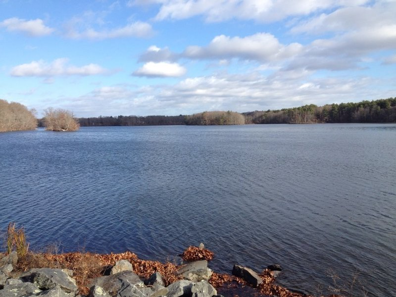 Looking north across the Reservoir.