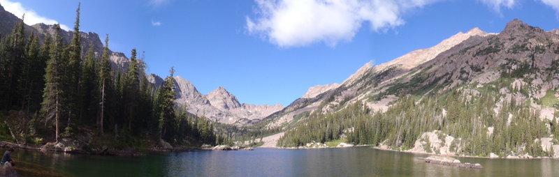 Upper Slate Lake.