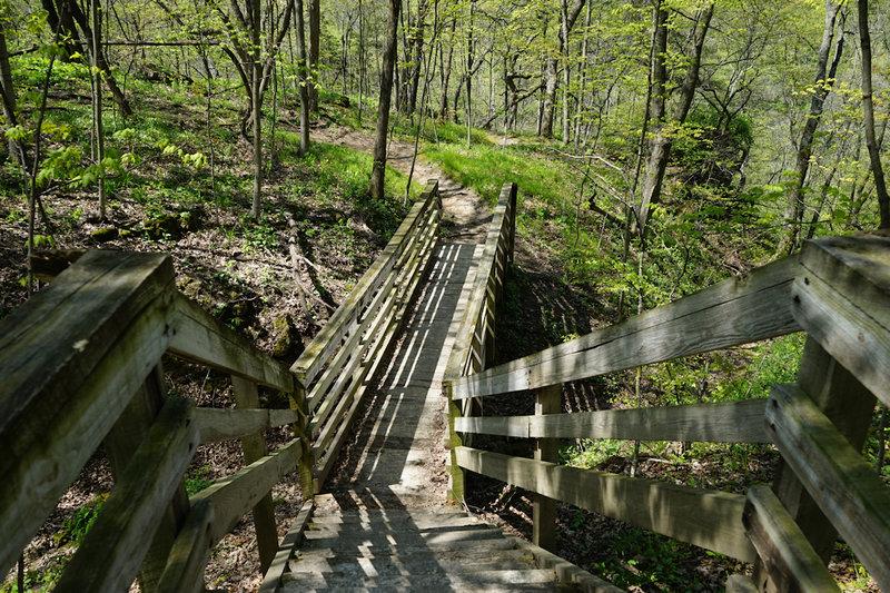 Bridge on the trail.