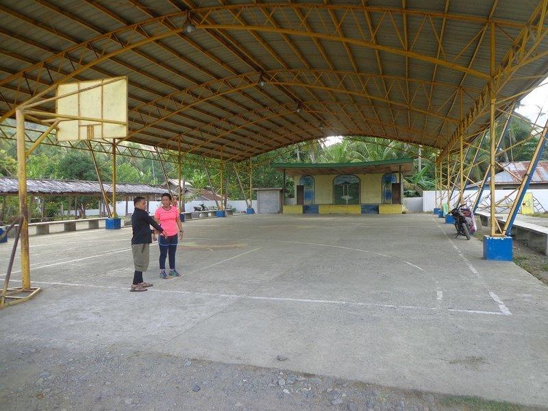 Venue of 1st Mt. Hamiguitan Trail Race at Brgy. La Union, San Isidro Davao Oriental, Philippines.
