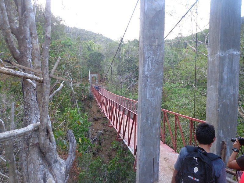 The second hanging bridge.