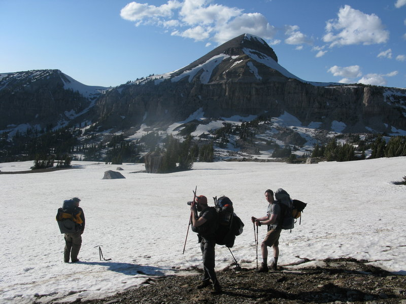 Top of Fox Creek Pass.