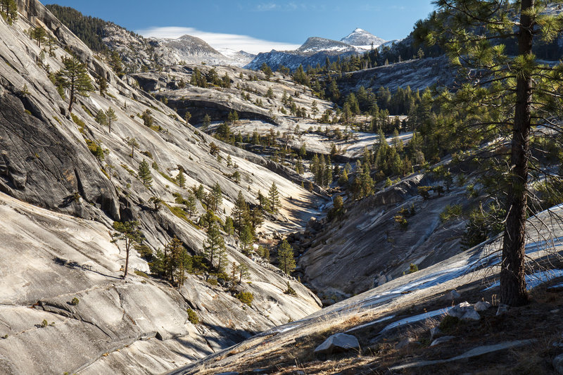 Way from Merced Lake, Yosemite.