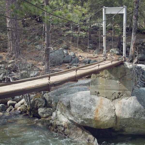 The Swinging Bridge.