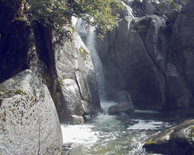 Merced mini-falls.