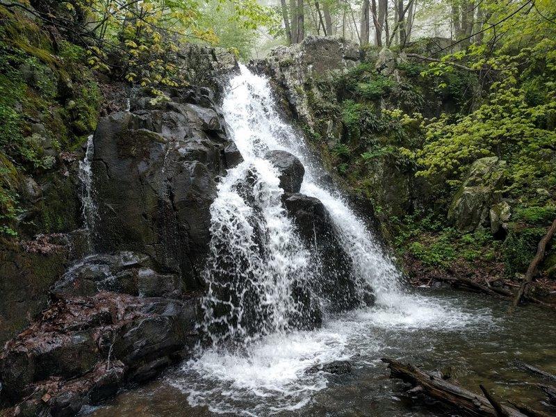 The Overall Run upper cascades.