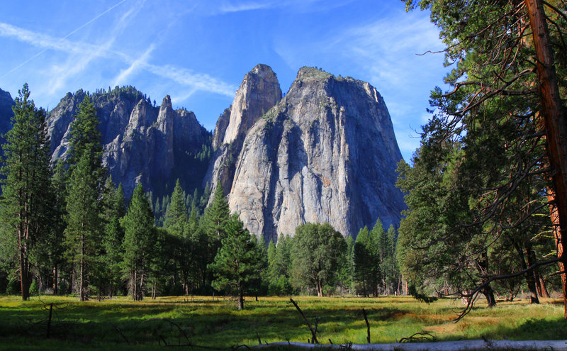 Cathedral Formation, Yosemite Valley, Yosemite National Park, California. with permission from Richard Ryer
