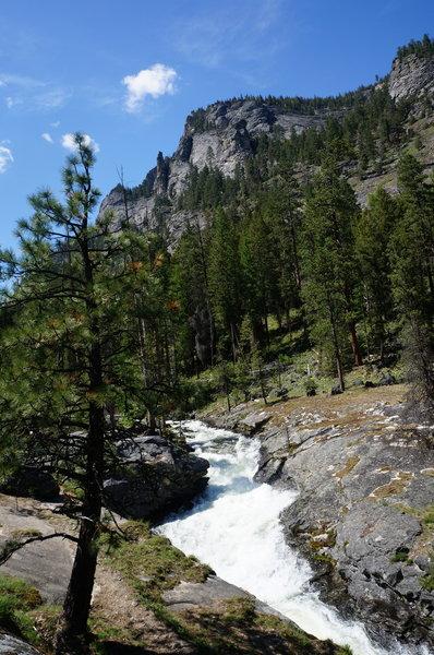 Bear Creek Falls.
