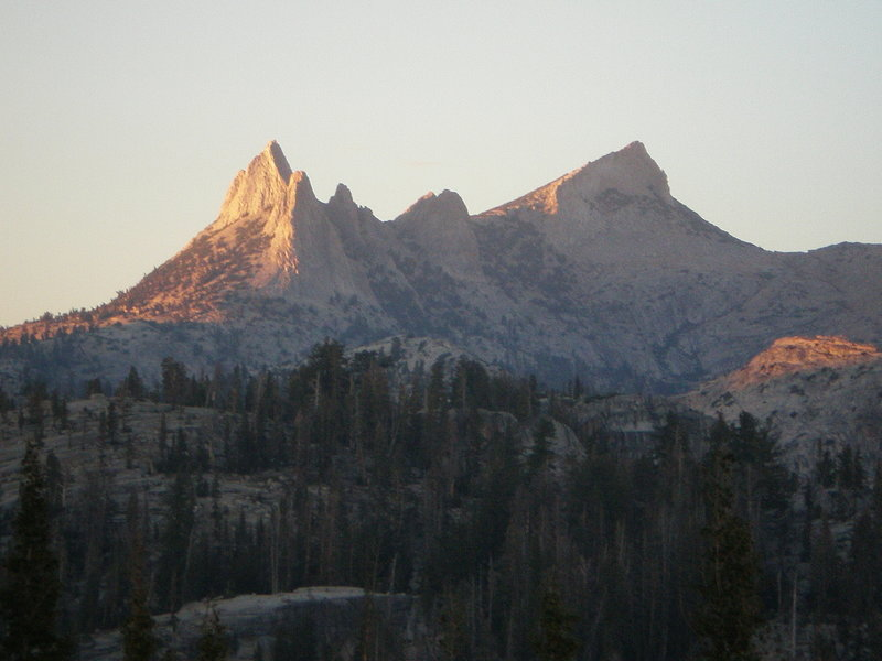 Views approaching Sunrise Camp - Cathedral Peak with permission from Frank_Richards
