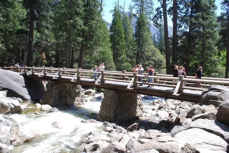 Bridge over the creek.