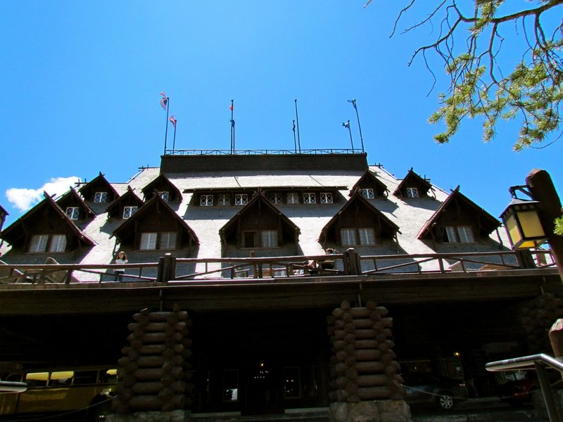 Old Faithful Inn.