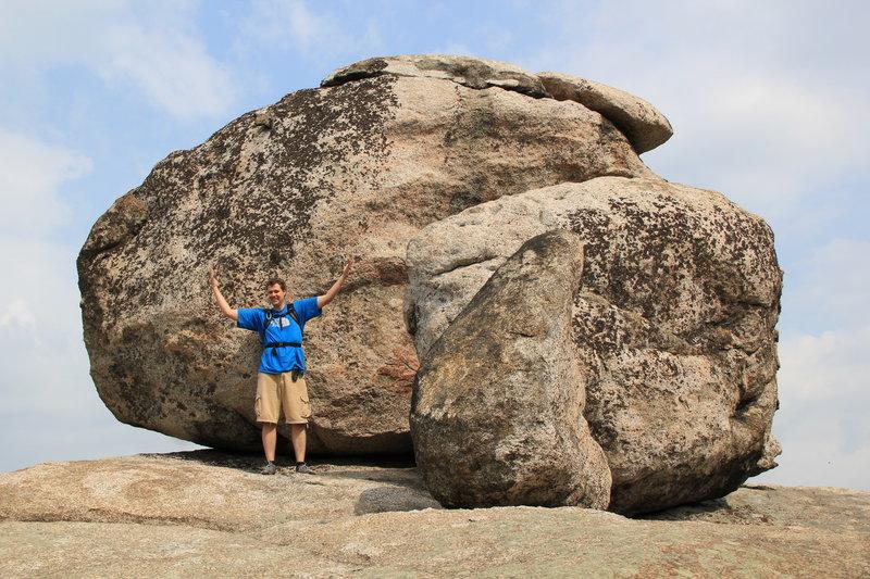 Big Rock formations.