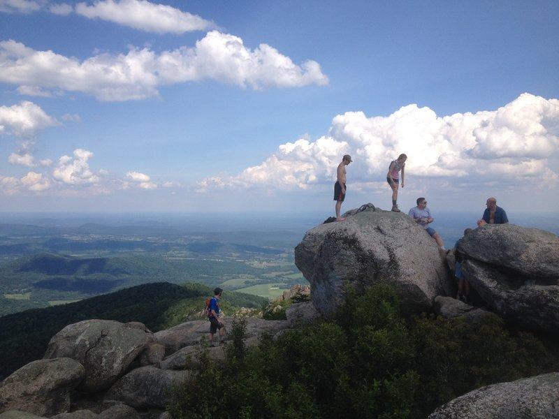 Old Rag summit.