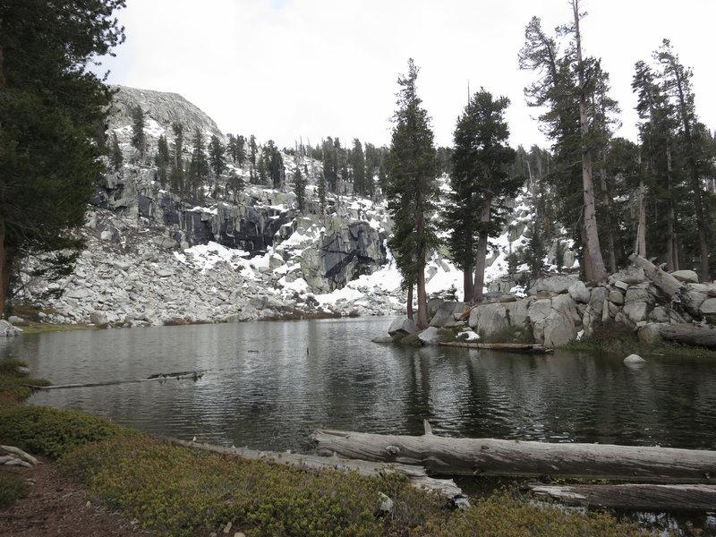Heather Lake on Lakes Trail.