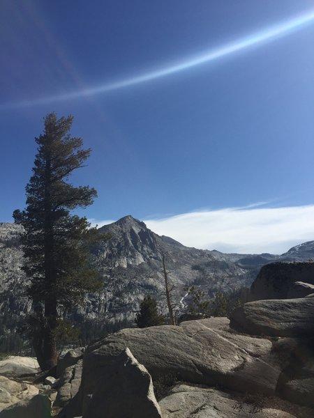 Overlook on Lake Trail.
