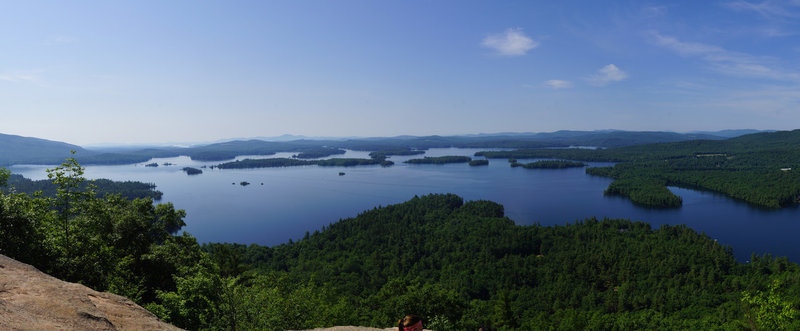 Squam from Rattlesnake.