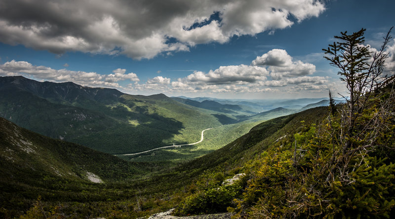 From the top of Cannon Mountain.