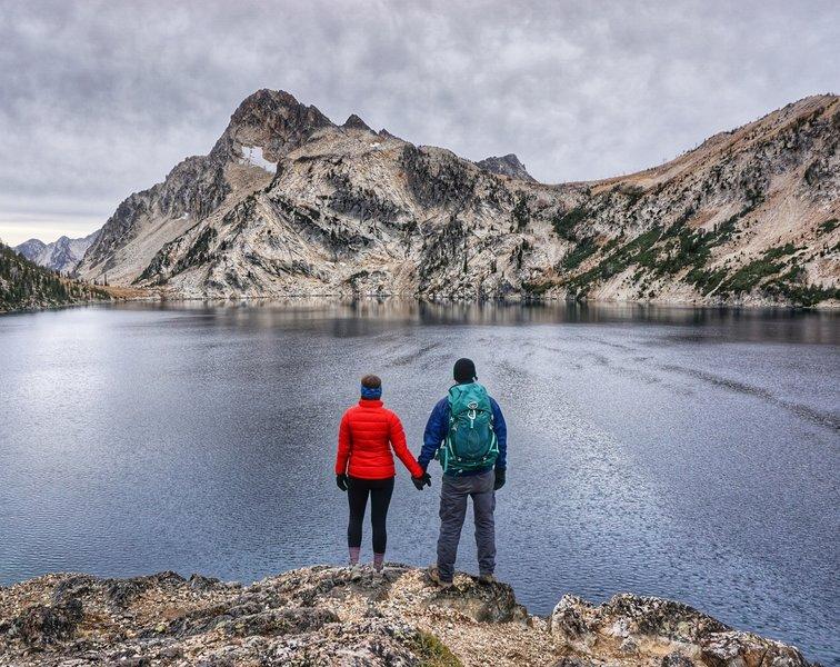 Sawtooth Lake.