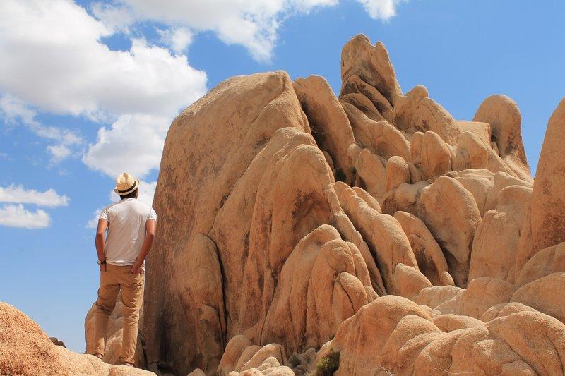 Near Arch Rock - Joshua Tree National Park.