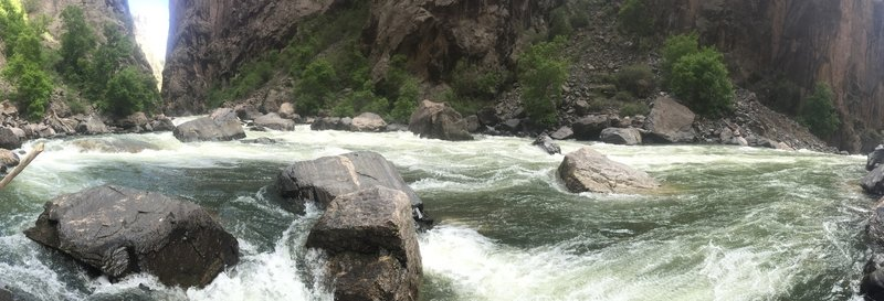 The MIGHTY Gunnison River.
