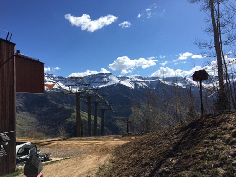 Telluride Trail Gondola Trailhead