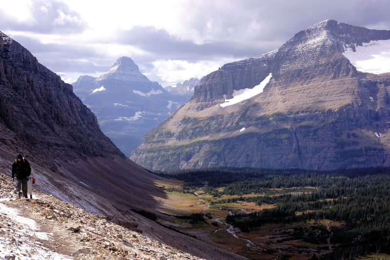 Siyeh Pass, Glacier National Park.