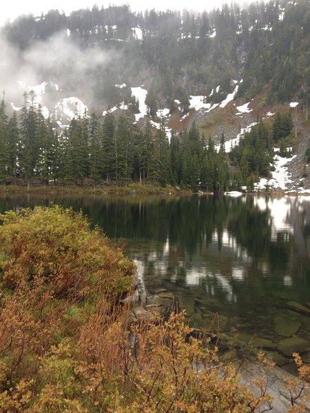 Lake Thompson.