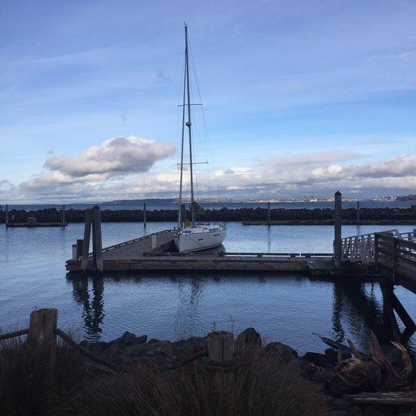 Blake Island Marina.