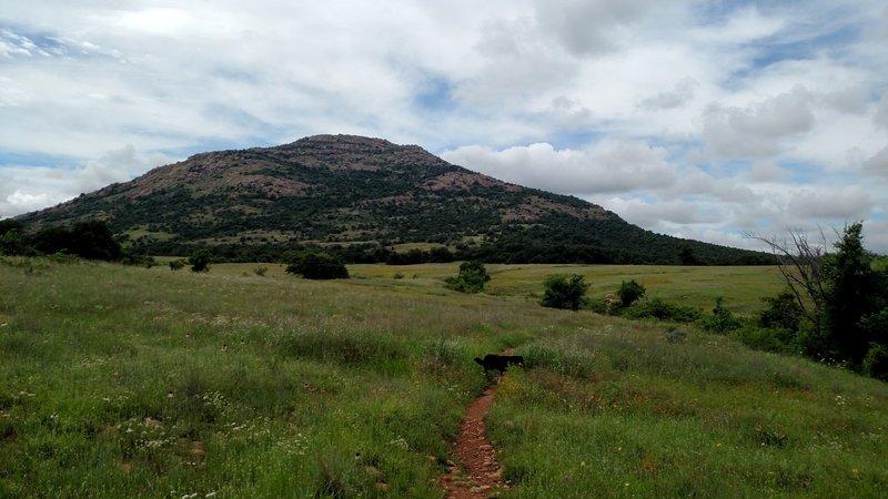 Mount Scott along Lawtonka Trails, Green Trail.