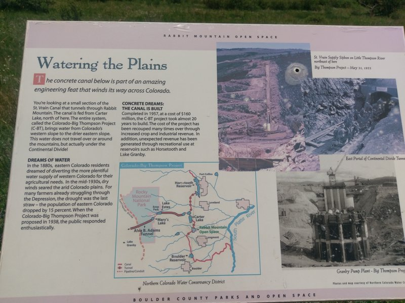 Wonderfully informative panels explain the many irrigation canals, flora, fauna and history of this area.