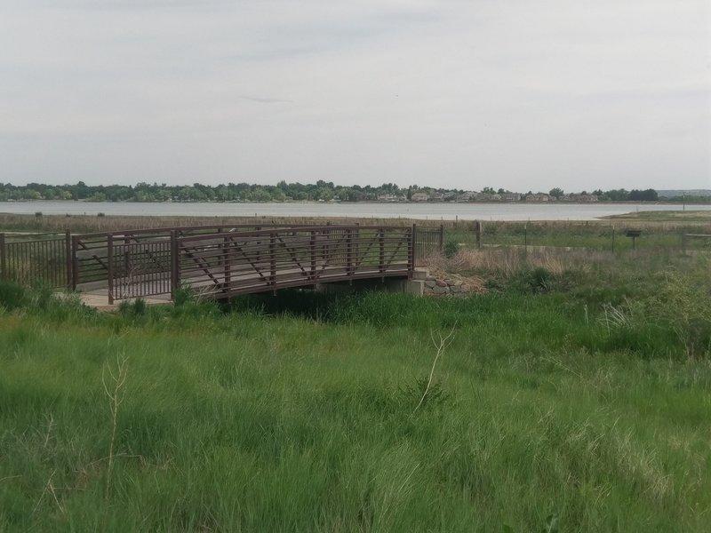 Bridge spanning the Oligarchy (irrigation) Ditch.