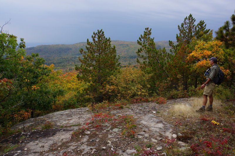 Lake Superior Hiking Trail.